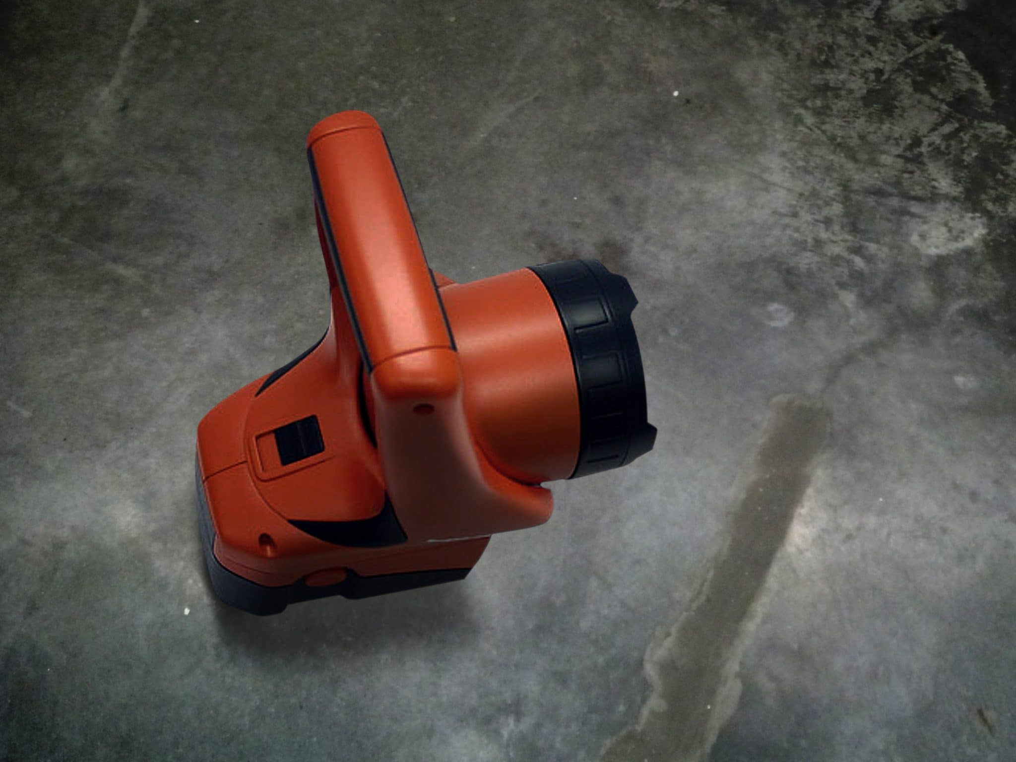 24 Volt cordless flashlight